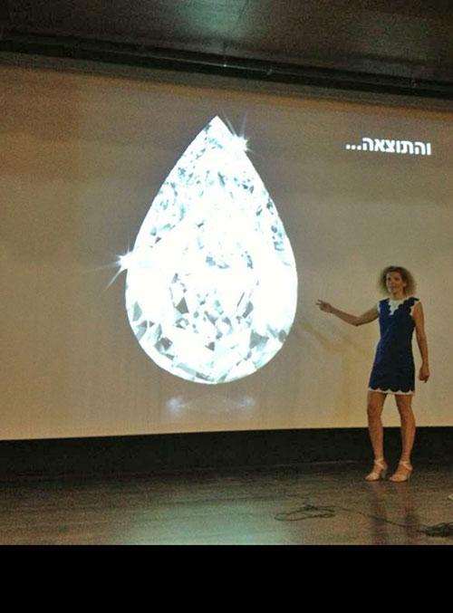הרצאה על יהלומים, יהלום, יהלומים, הדס דורי בר משה