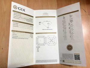 gemological certificate, GIA-Gemological Institute of America, תעודת יהלום, תעודה ליהלומים, תעודה גמולוגית