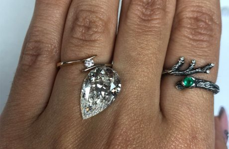 יהלום בטבעת אירוסין