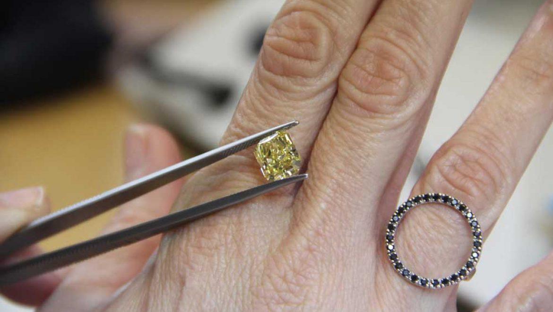 שינוי צבע של יהלומים – Color enhanced Diamonds